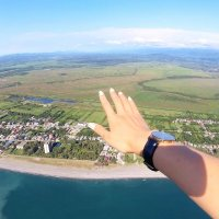 powered paragliding in batumi